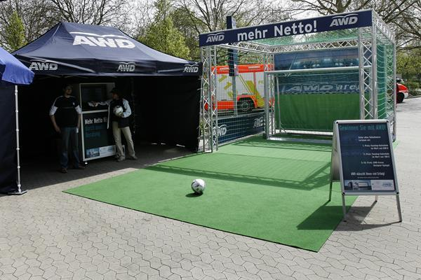 AWD Promotion Tour-soccer goal