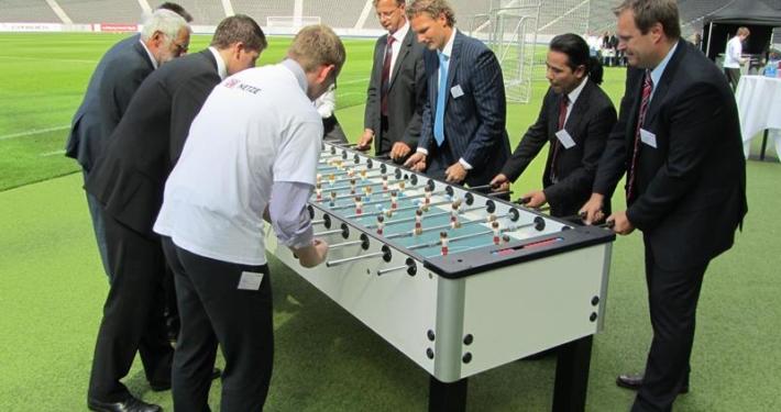 Tischkicker Fußball Eventmodule