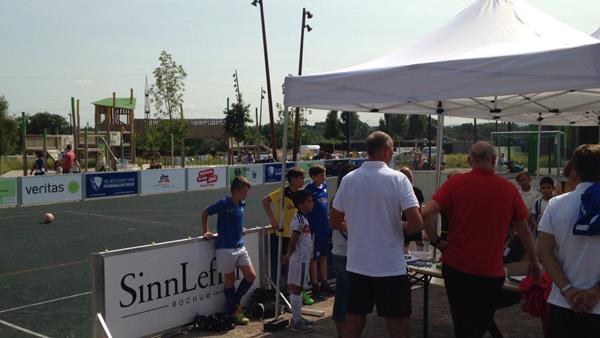 street soccer court