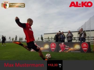 Fußball Radaranlage
