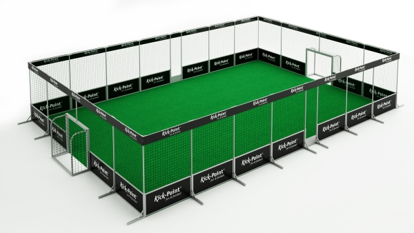 Street Soccer Court branded